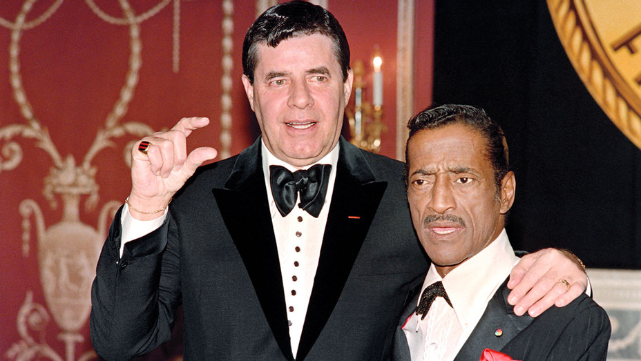 Jerry Lewis and Sammy Davis Jr - ONE TIME USE ONLY- Getty-H 2018