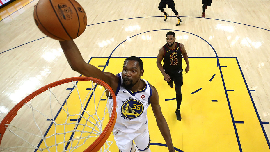 Golden State Warriors Kevin Durant and Cleveland Cavaliers - May 31, 2018 - Getty-H 2018