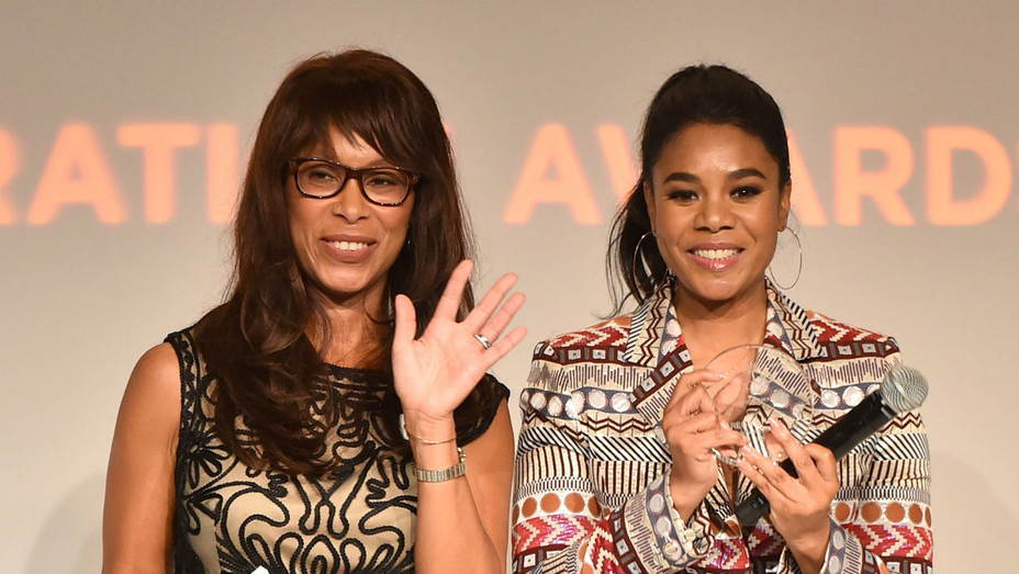 Channing Dungey and actress Regina Hall Step Up Awards - Getty - H 2018