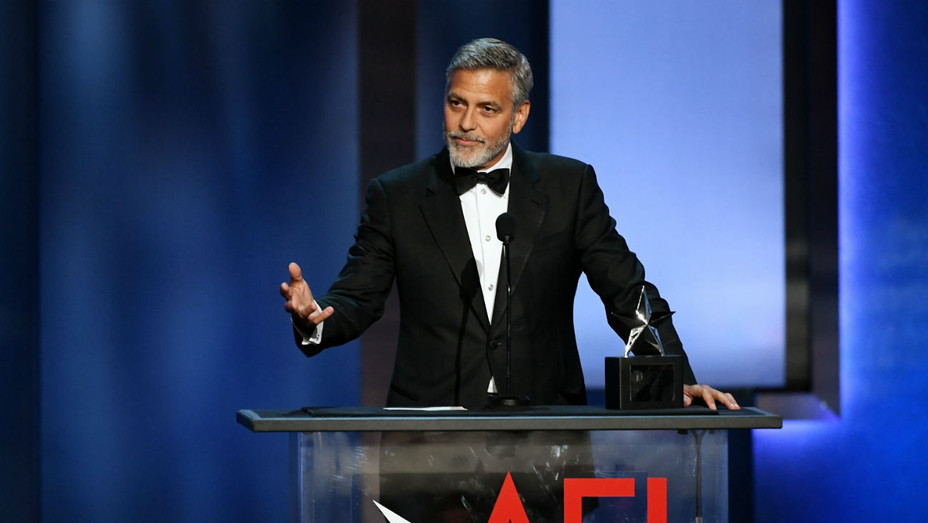 George Clooney Accepts AFI Life Achievement - Getty - H 2018
