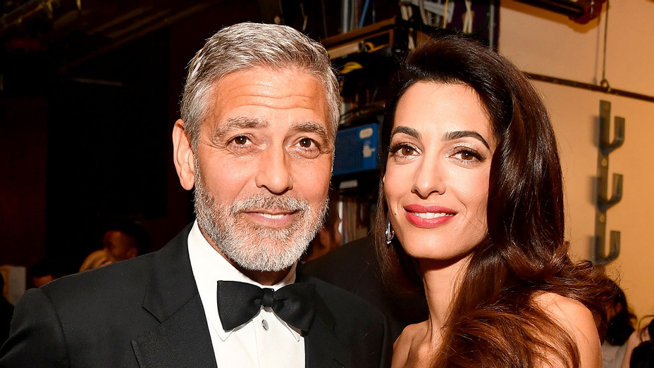 46th AFI Life Achievement Award Recipient George Clooney and Amal Clooney -Getty- H 2018