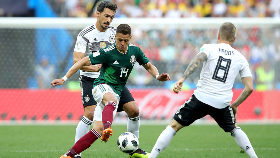 Geramny battles for the ball with Mexico during the 2018 FIFA World Cup -June 17, 2018 -Getty-H 2018