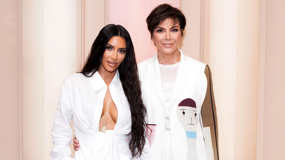 Kim Kardashian West and Kris Jenner -KKW Beauty Pop-Up Shop- Getty-H 2018
