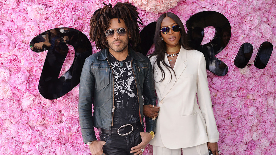 Dior Homme Menswear Spring Summer 2019 show -Lenny Kravitz and Naomi Campbell - Getty-H 2018