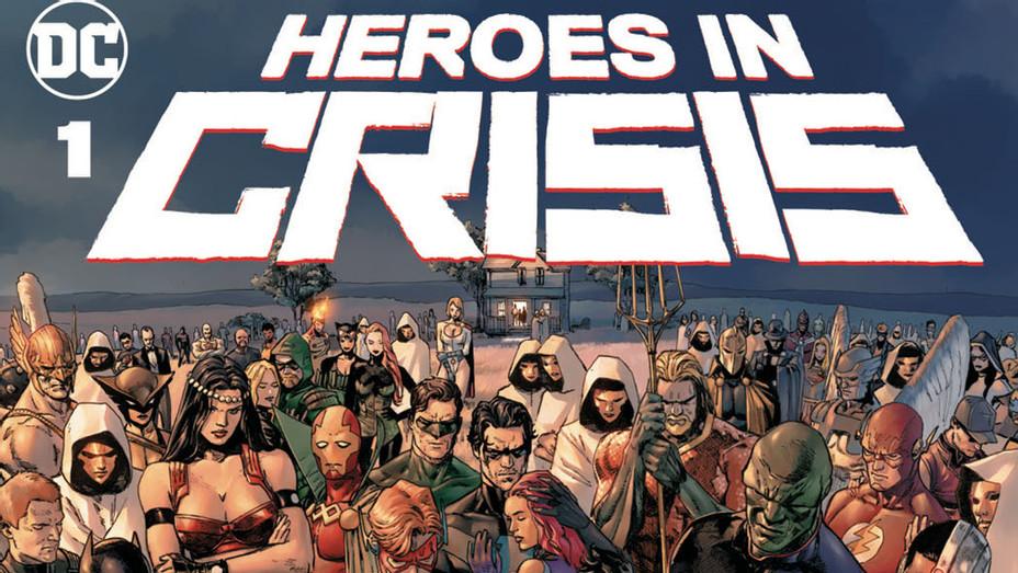 Heroes In Crisis Cv1 Mockup-Publicity-P 2018