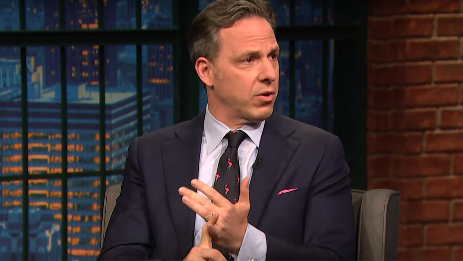 Jake Tapper - Late Night with Seth Meyers - Screen Shot-H 2018