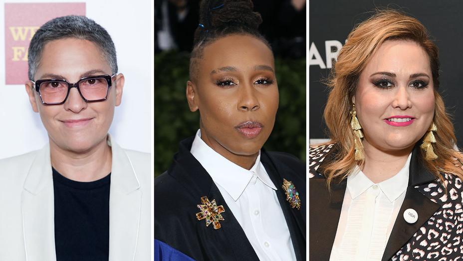 Jill Soloway, Lena Waithe and Tanya Saracho_Split - Getty - H 2018