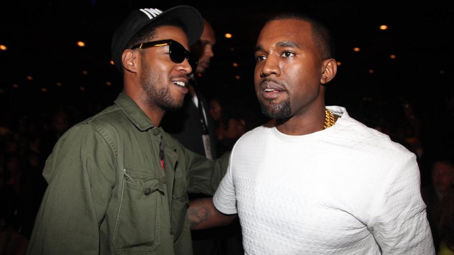 Kanye and Kid Cudi - Getty - H 2018