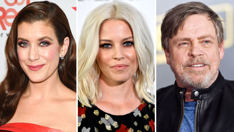 Kate Walsh, Elizabeth Banks and Mark Hamill - Split - Getty - H 2018