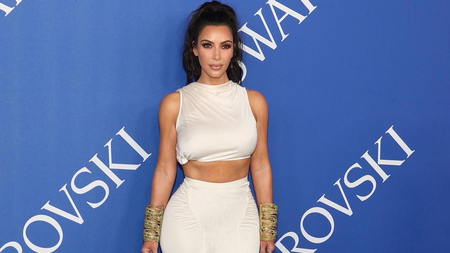 Kim Kardashian  attends the 2018 CFDA Awards - Getty - H 2018