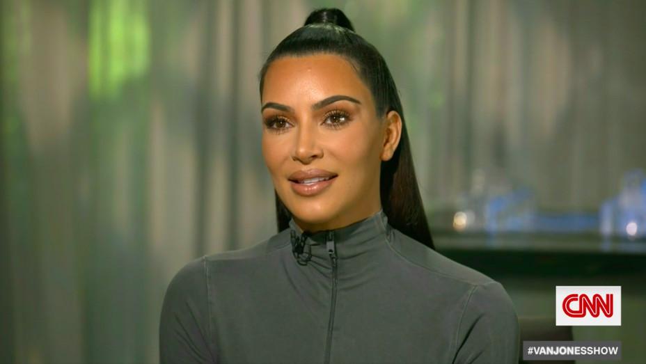 Kim Kardashian West on CNN - Publicity - H 2018