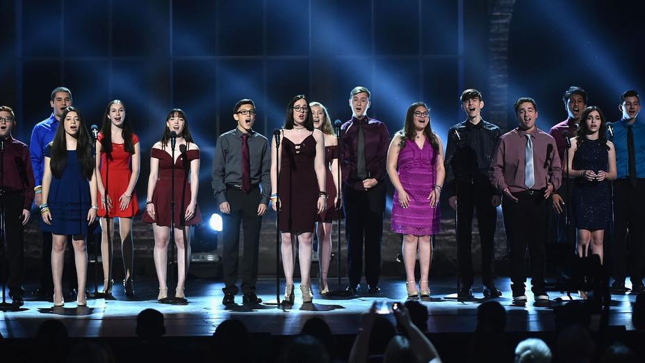 Marjory Stoneman Douglas High School drama students_Onstage_Tonys - Getty - H 2018