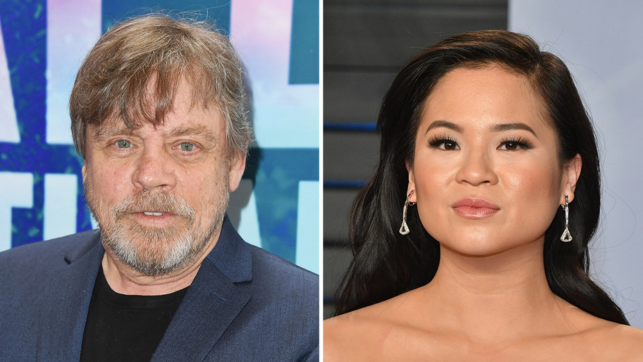 Mark Hamill and Kelly Marie Tran_Split - Getty - H 2018