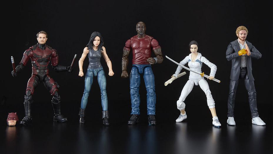 Marvel Legends Defenders - Hasbro - Publicity-H 2018