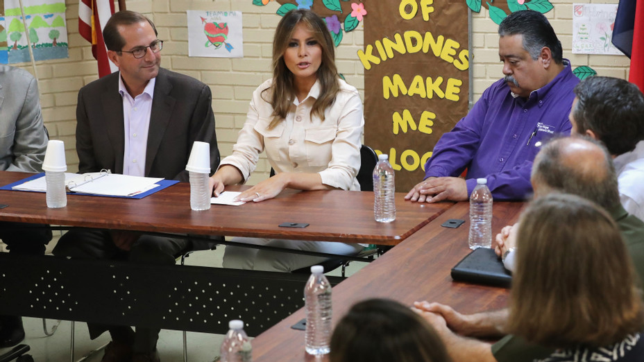 Melania Trump Visits Immigrant Detention Center On U.S. Border - Getty - H 2018
