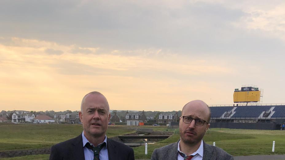Men in Blazers at Carnoustie - Publicity - P 2018