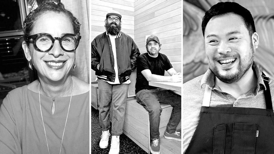 Nancy Silverton, Jon & Vinny, David Chang Split- H 2018