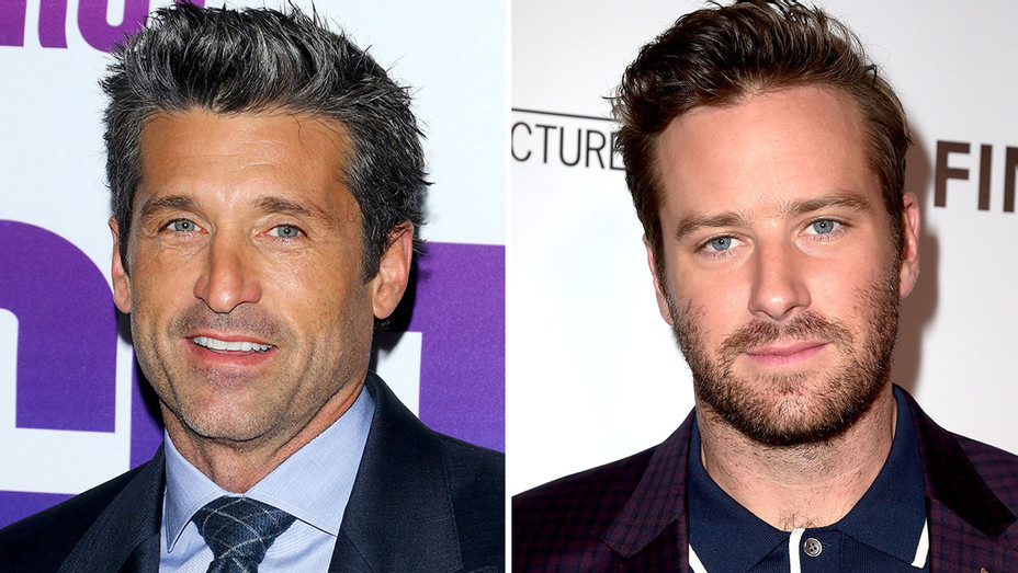 Patrick Dempsey and Armie Hammer -Split-Getty-H 2018