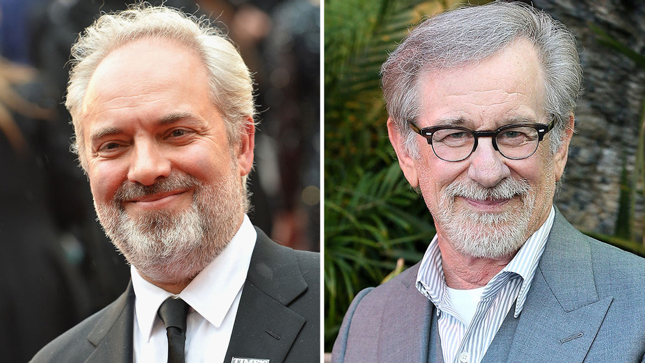 Sam Mendes, Steven Spielberg  Split- Getty-H 2018