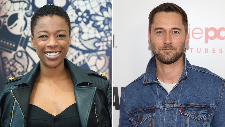 Samira Wiley Ryan Eggold - Getty - H Split 2018