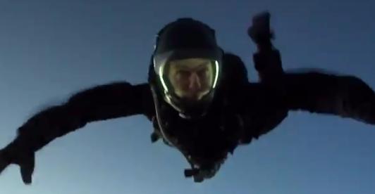 Tom Cruise HALO Jump - H 2018 Screengrab