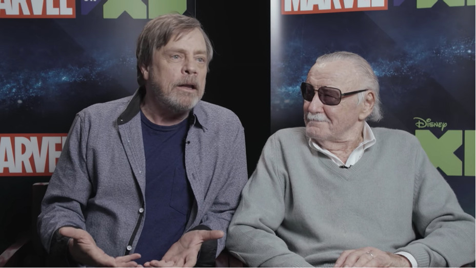 Mark Hamill and Stan Lee - H 2018