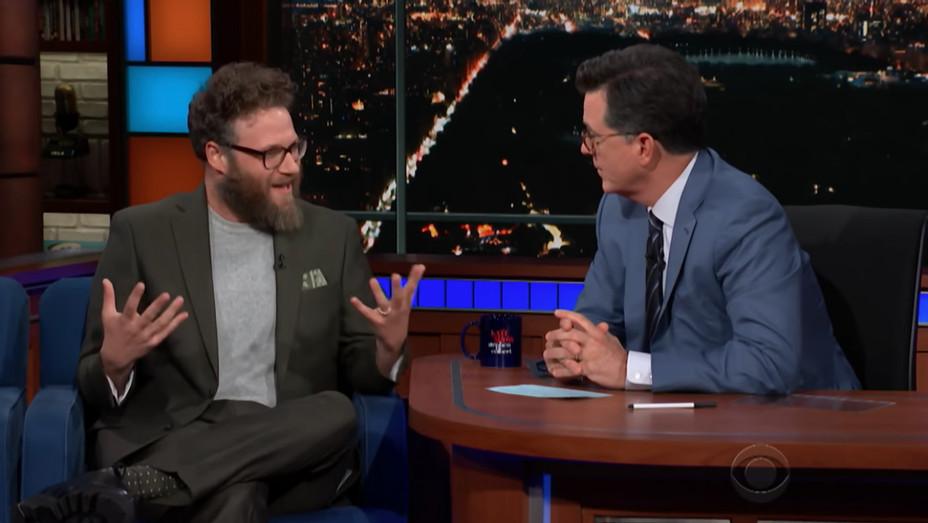 Seth Rogen Late Show - H 2018
