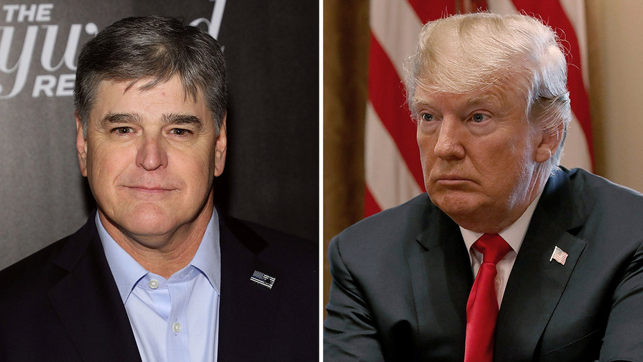 sean hannity and donald trump_Split - Getty - H 2018