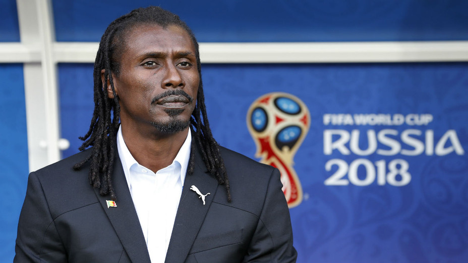 Senegal Manager Aliou Cisse