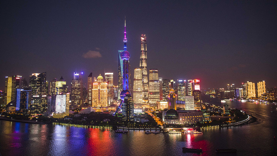 Shanghai Skyline Night Getty - H 2018