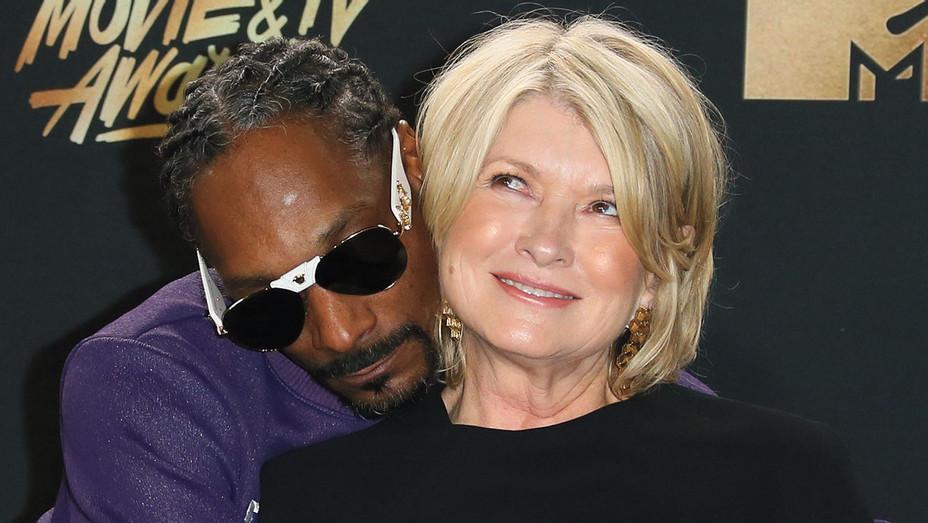 Snoop Dogg and Martha Stewart - Getty - H 2018