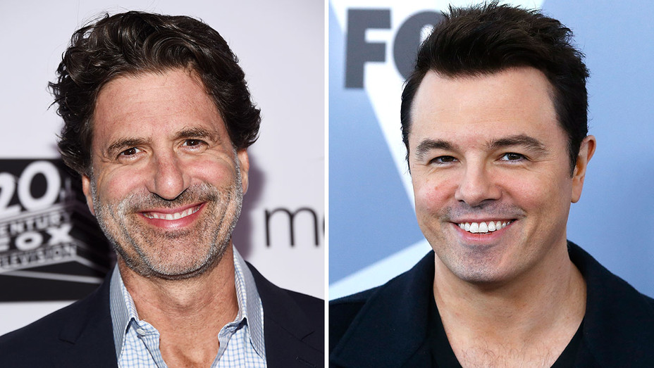 Steve Levitan and Seth MacFarlane_Split - Getty - H 2018