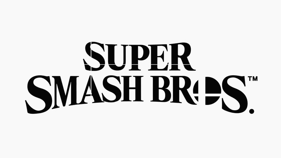 Super Smash Bros Logo - Screengrab - H 2018