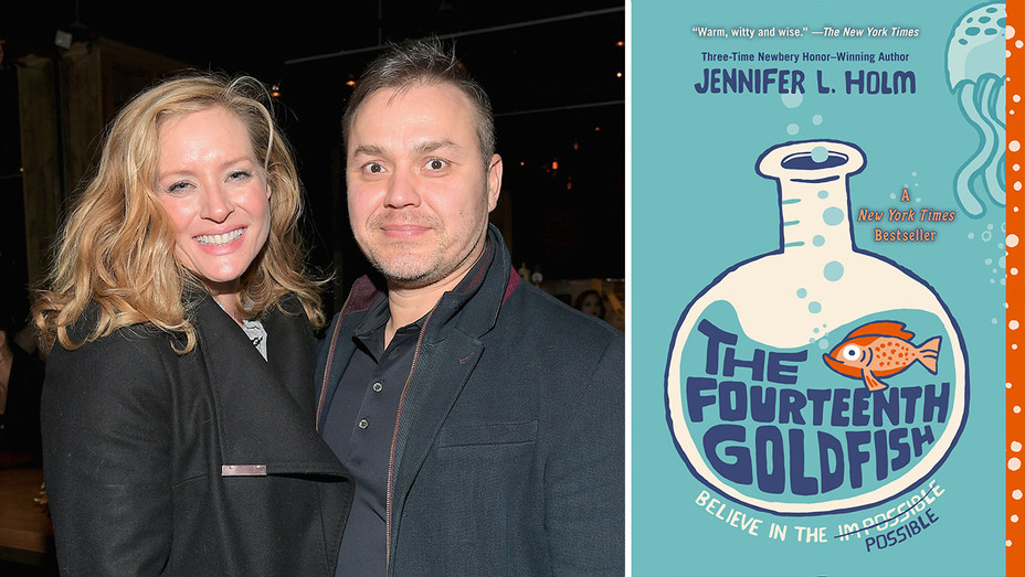 Ted Melfi, Kimberly Quinn_The Fourteenth Goldfish_Split - Getty - H 2018
