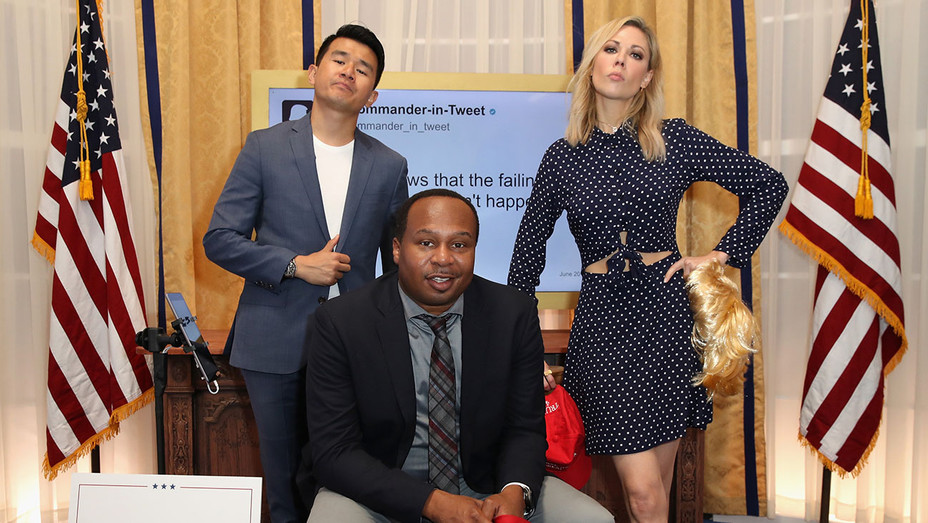 The Daily Show correspondents Ronny Chieng, Roy Wood Jr. and Desi Lydic - Getty - H 2018