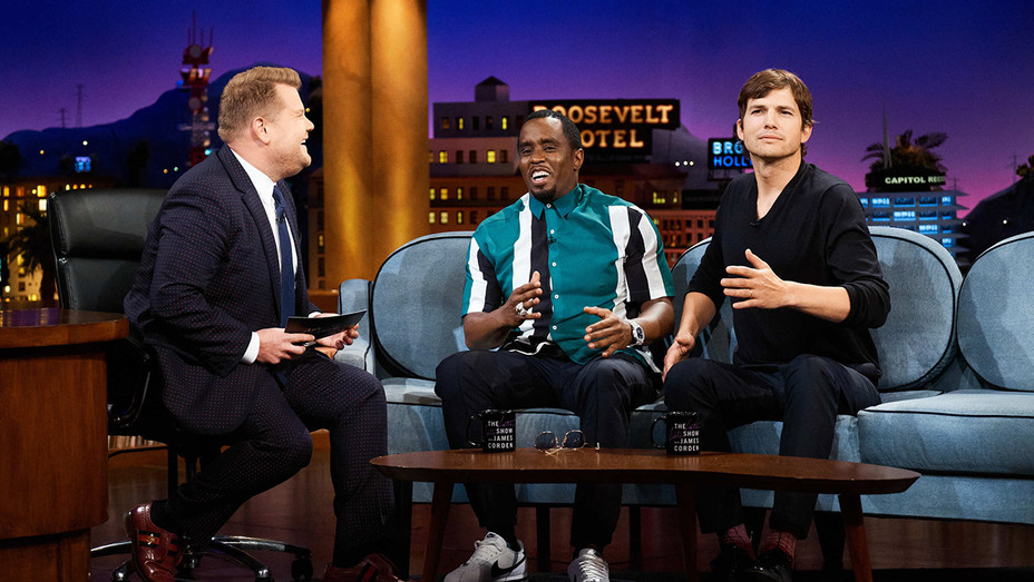 The Late Late Show with James Corden_Diddy and Ashton Kutcher - Publicity - H 2018