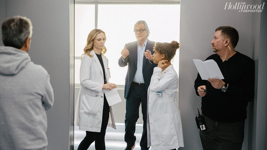 On Set of The Good Doctor - Photographed by Grant Harder - H 2018