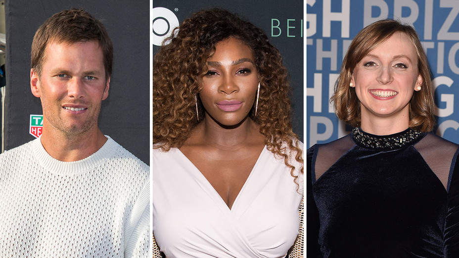 Tom Brady, Serena Williams and Katie Ledecky_Split - Getty - H 2018