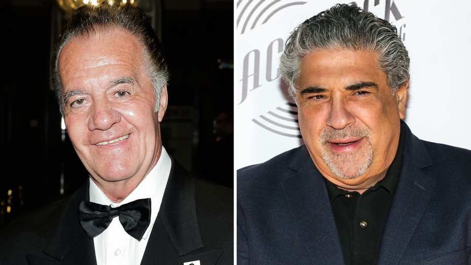 Tony Sirico and Vincent Pastore - Split - Getty - H 2018