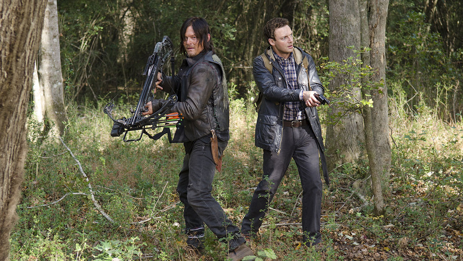 The Walking Dead - Season 5 Episode 15 - Norman Reedus -Ross Marquand -Publicity-H 2018