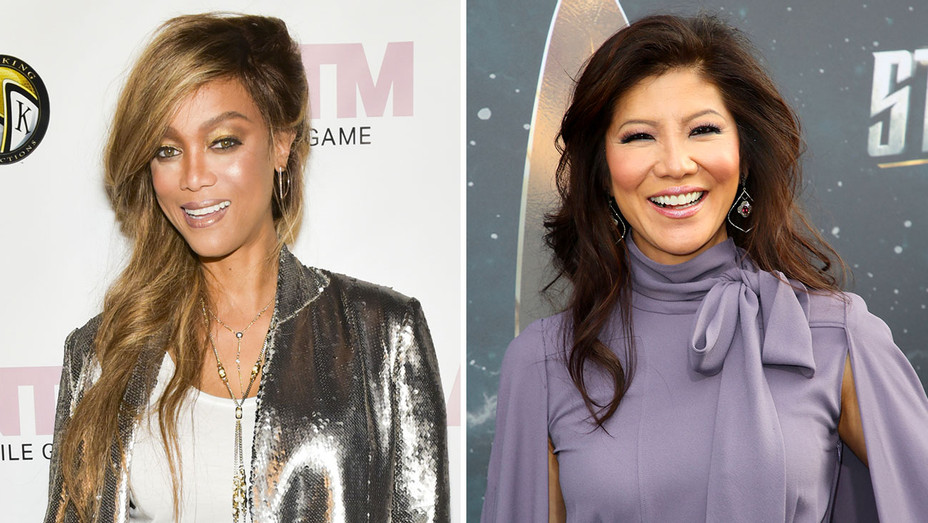 Tyra Banks -  Julie Chen and More Reality Hosts -Split -Getty-H 2018