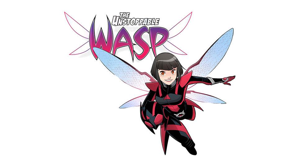 Unstoppable Wasp Still 1 -Gurihiru -Marvel Entertainment Publicity-H 2018