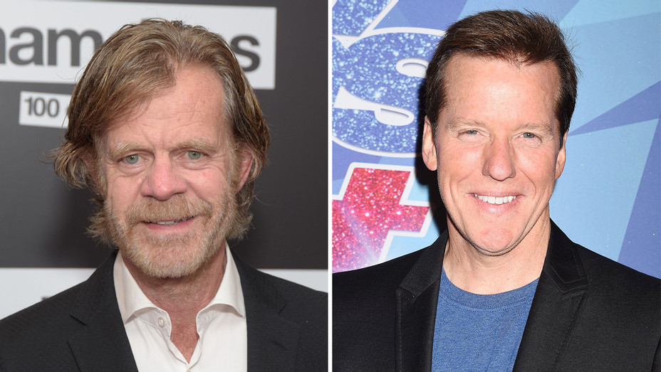 William H. Macy and Jeff Dunham - Getty - H Split 2018