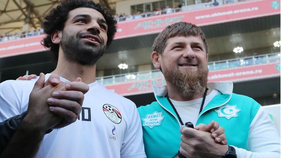 World Cup Mohamed Salah, Ramzan Kadyrov