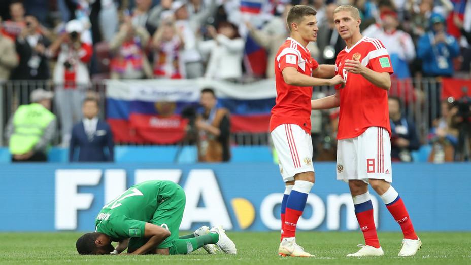 World Cup Russia v Saudi Arabia