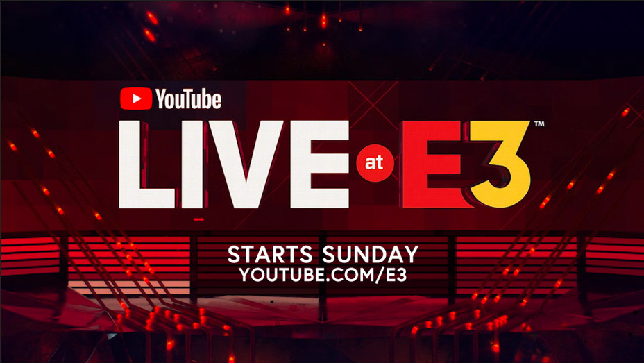 YouTube Live at E3 Logo - H Promo 2018