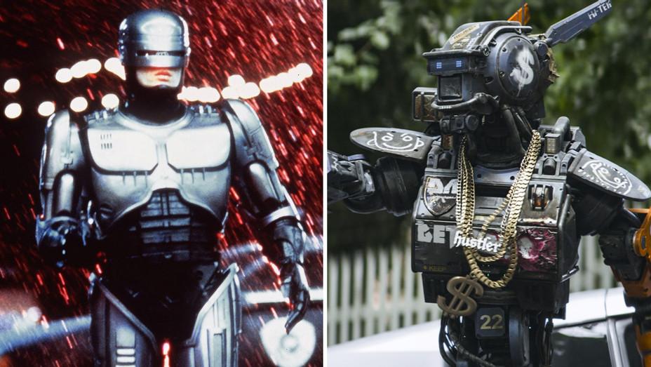 1987's Robocop and 2015's Chappie - Photofest - H 2018
