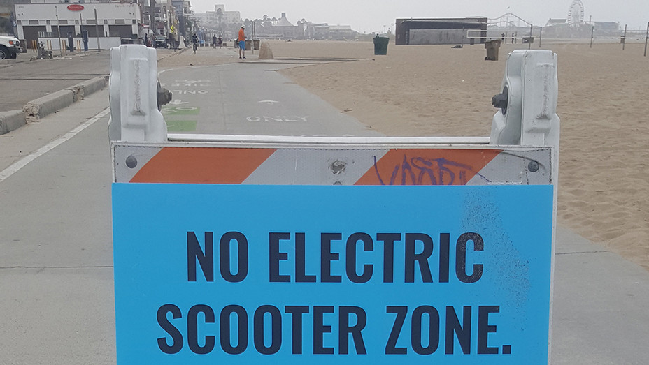 No Scooter Zone - Staff - P 2018