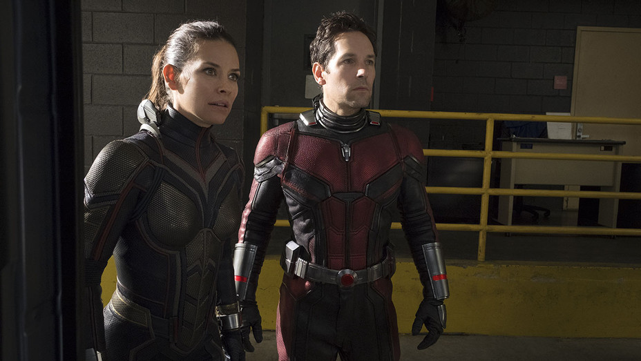 ANT-MAN AND THE WASP -  Evangeline Lilly and Paul Rudd - Publicity-H 2018