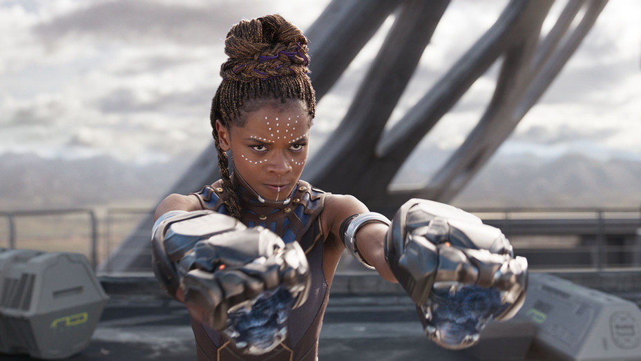 Black Panther Still Letitia Wright - Publicity - H 2018